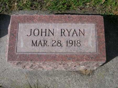 RYAN, JOHN - Dawes County, Nebraska   JOHN RYAN - Nebraska Gravestone Photos