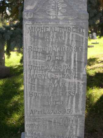 RYAN, MICHEAL HUBERT - Dawes County, Nebraska | MICHEAL HUBERT RYAN - Nebraska Gravestone Photos