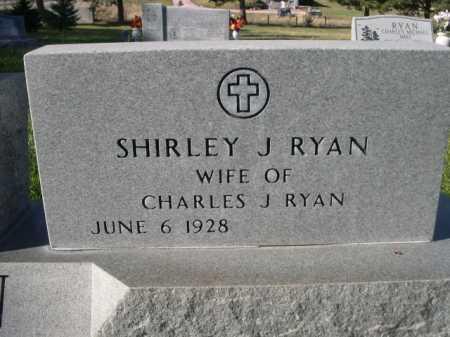 RYAN, SHIRLEY J. - Dawes County, Nebraska | SHIRLEY J. RYAN - Nebraska Gravestone Photos