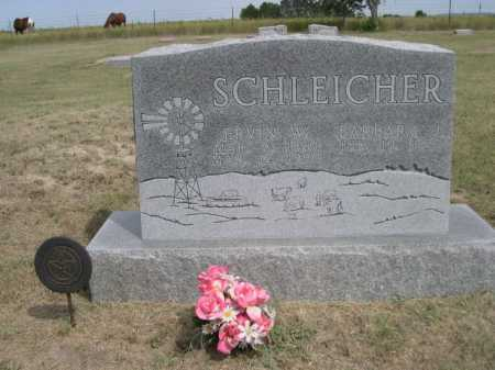 SCHLEICHER, ERVIN W. - Dawes County, Nebraska | ERVIN W. SCHLEICHER - Nebraska Gravestone Photos