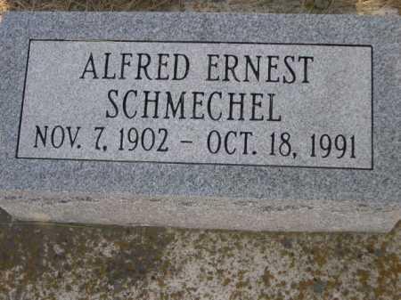 SCHMECHEL, ALFRED ERNEST - Dawes County, Nebraska | ALFRED ERNEST SCHMECHEL - Nebraska Gravestone Photos