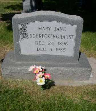 SCHRECKENGHAUST, MARY JANE - Dawes County, Nebraska | MARY JANE SCHRECKENGHAUST - Nebraska Gravestone Photos