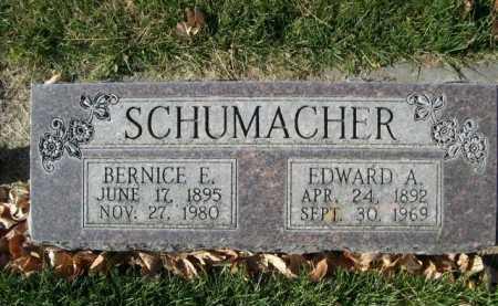 SCHUMACHER, BERNICE E. - Dawes County, Nebraska | BERNICE E. SCHUMACHER - Nebraska Gravestone Photos