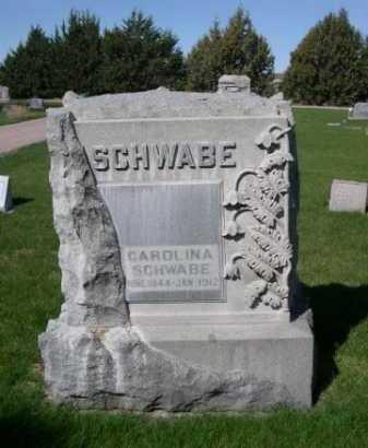 SCHWABE, CAROLINA - Dawes County, Nebraska | CAROLINA SCHWABE - Nebraska Gravestone Photos
