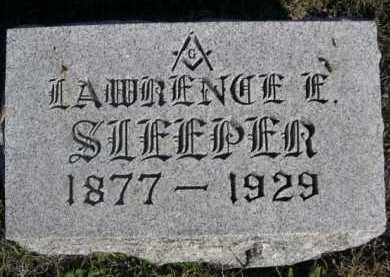 SLEEPER, LAWRENCE E. - Dawes County, Nebraska | LAWRENCE E. SLEEPER - Nebraska Gravestone Photos