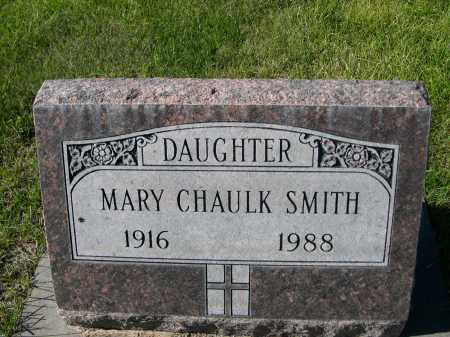 CHAULK SMITH, MARY - Dawes County, Nebraska   MARY CHAULK SMITH - Nebraska Gravestone Photos