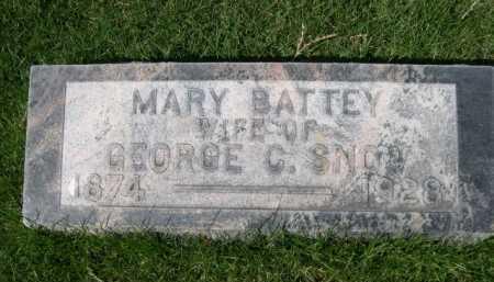 BATTEY SNOW, MARY - Dawes County, Nebraska | MARY BATTEY SNOW - Nebraska Gravestone Photos