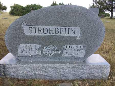 STROHBEHN, HELEN E. - Dawes County, Nebraska   HELEN E. STROHBEHN - Nebraska Gravestone Photos