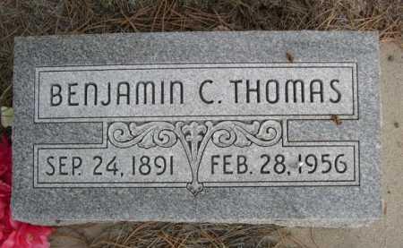 THOMAS, BENJAMIN C. - Dawes County, Nebraska | BENJAMIN C. THOMAS - Nebraska Gravestone Photos