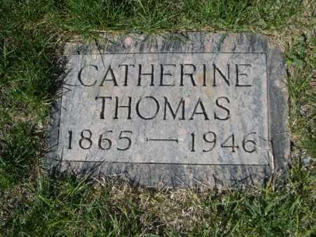 THOMAS, CATHERINE - Dawes County, Nebraska | CATHERINE THOMAS - Nebraska Gravestone Photos