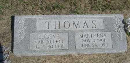 THOMAS, MARTHENA - Dawes County, Nebraska | MARTHENA THOMAS - Nebraska Gravestone Photos