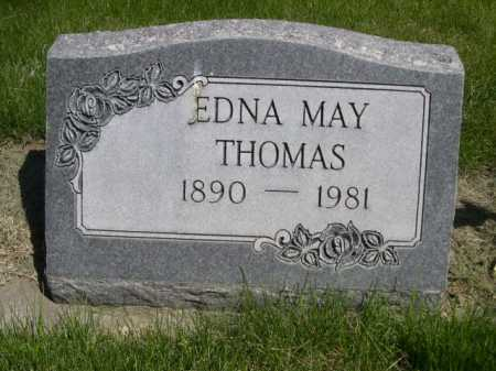 THOMAS, EDNA MAY - Dawes County, Nebraska | EDNA MAY THOMAS - Nebraska Gravestone Photos