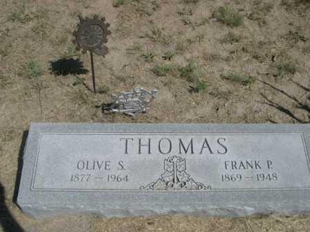 THOMAS, FRANK P. - Dawes County, Nebraska | FRANK P. THOMAS - Nebraska Gravestone Photos