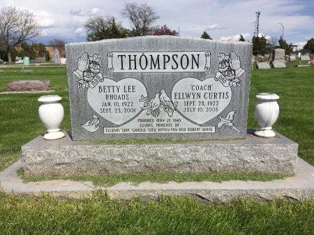 RHOADS THOMPSON, BETTY LEE - Dawes County, Nebraska   BETTY LEE RHOADS THOMPSON - Nebraska Gravestone Photos