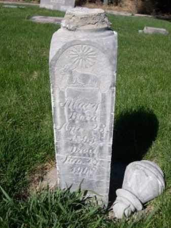 EICHENBERGER JONES, MARY - Dawes County, Nebraska | MARY EICHENBERGER JONES - Nebraska Gravestone Photos