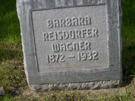 REISDORFER WAGNER, BARBARA - Dawes County, Nebraska | BARBARA REISDORFER WAGNER - Nebraska Gravestone Photos