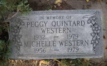 QUINTARD WESTERN, PEGGY - Dawes County, Nebraska | PEGGY QUINTARD WESTERN - Nebraska Gravestone Photos