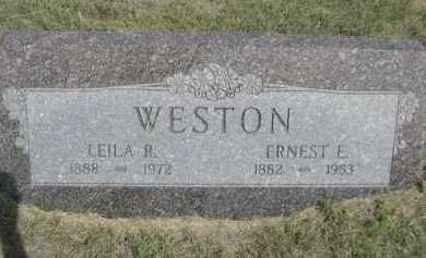 WESTON, LEILA R. - Dawes County, Nebraska | LEILA R. WESTON - Nebraska Gravestone Photos