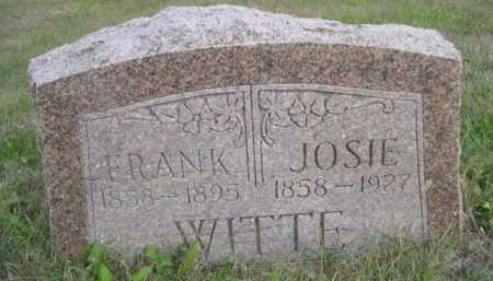 WITTE, JOSIE - Dawes County, Nebraska | JOSIE WITTE - Nebraska Gravestone Photos