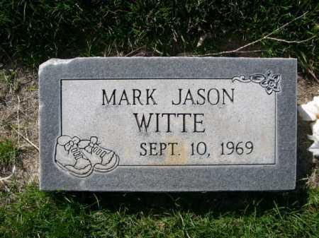 WITTE, MARK JASON - Dawes County, Nebraska | MARK JASON WITTE - Nebraska Gravestone Photos