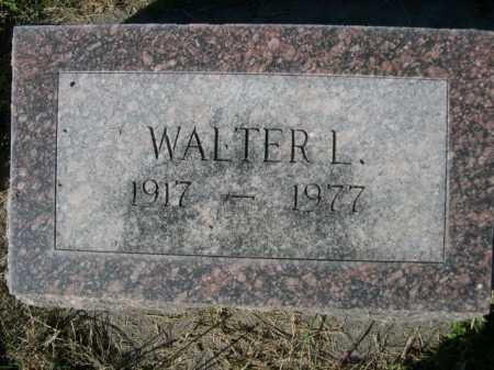 WITTE, WALTER L. - Dawes County, Nebraska   WALTER L. WITTE - Nebraska Gravestone Photos