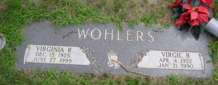 WOHLERS, VIRGIL B. - Dawes County, Nebraska | VIRGIL B. WOHLERS - Nebraska Gravestone Photos