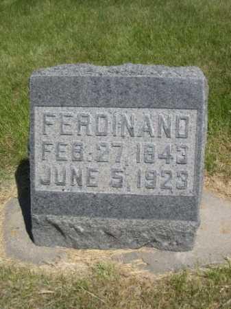 WOLLESEN, FERDINAND - Dawes County, Nebraska | FERDINAND WOLLESEN - Nebraska Gravestone Photos