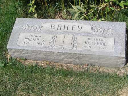 BAILEY, JOSEPHINE - Dawson County, Nebraska | JOSEPHINE BAILEY - Nebraska Gravestone Photos