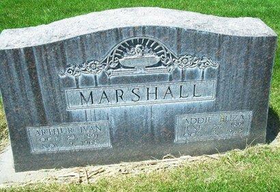 MARSHALL, ADDIE ELIZA - Dawson County, Nebraska | ADDIE ELIZA MARSHALL - Nebraska Gravestone Photos