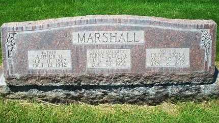 MARSHALL, FERNE OLIVINE - Dawson County, Nebraska | FERNE OLIVINE MARSHALL - Nebraska Gravestone Photos