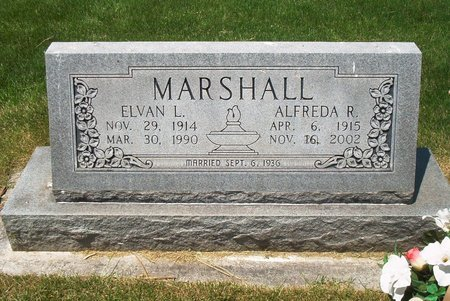 MARSHALL, ALFREDA R - Dawson County, Nebraska | ALFREDA R MARSHALL - Nebraska Gravestone Photos