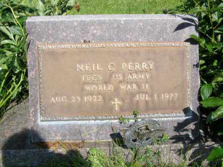 PERRY, NEIL - Dawson County, Nebraska | NEIL PERRY - Nebraska Gravestone Photos