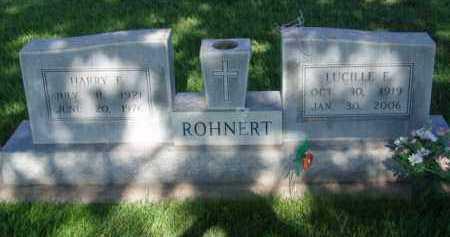 ROHNERT, HARRY - Dawson County, Nebraska | HARRY ROHNERT - Nebraska Gravestone Photos