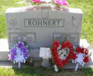 ROHNERT, JOHN - Dawson County, Nebraska | JOHN ROHNERT - Nebraska Gravestone Photos