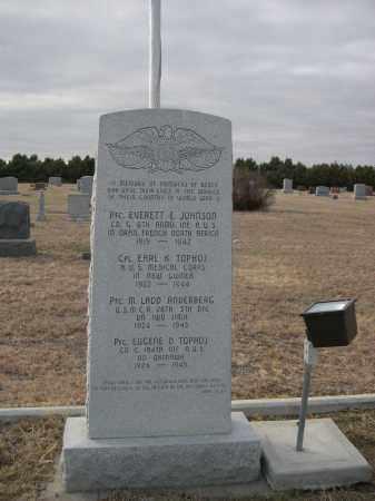 *BEREA CEMETERY, MEMORIAL TO WW II VETS. - Deuel County, Nebraska | MEMORIAL TO WW II VETS. *BEREA CEMETERY - Nebraska Gravestone Photos