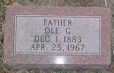 ANDERSON, OLE G. - Dixon County, Nebraska   OLE G. ANDERSON - Nebraska Gravestone Photos