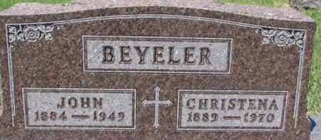 BEYELER, CHRISTENA - Dixon County, Nebraska | CHRISTENA BEYELER - Nebraska Gravestone Photos