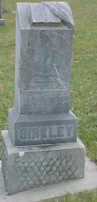 BIRKLEY, OLIANA - Dixon County, Nebraska   OLIANA BIRKLEY - Nebraska Gravestone Photos