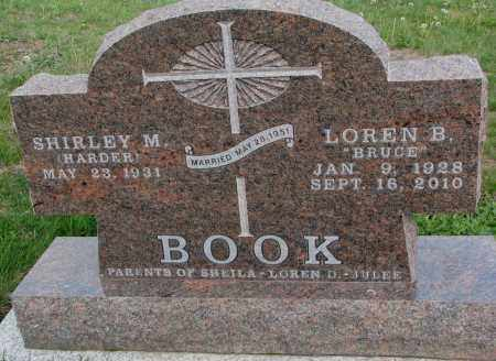 HARDER BOOK, SHIRLEY M. - Dixon County, Nebraska | SHIRLEY M. HARDER BOOK - Nebraska Gravestone Photos