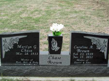 BROWN, CAROLINE A. - Dixon County, Nebraska | CAROLINE A. BROWN - Nebraska Gravestone Photos