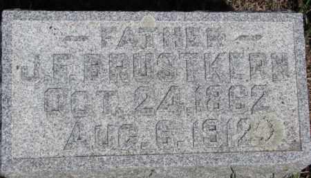 BRUSTKERN, J.F. - Dixon County, Nebraska   J.F. BRUSTKERN - Nebraska Gravestone Photos