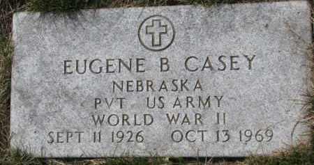 CASEY, EUGENE B. (WW II MARKER) - Dixon County, Nebraska | EUGENE B. (WW II MARKER) CASEY - Nebraska Gravestone Photos