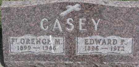 CASEY, FLORENCE M. - Dixon County, Nebraska | FLORENCE M. CASEY - Nebraska Gravestone Photos