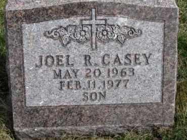 CASEY, JOEL R. - Dixon County, Nebraska | JOEL R. CASEY - Nebraska Gravestone Photos