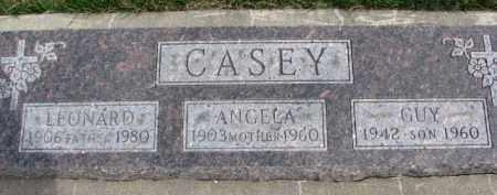 CASEY, GUY - Dixon County, Nebraska | GUY CASEY - Nebraska Gravestone Photos