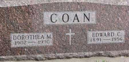 COAN, DOROTHEA M. - Dixon County, Nebraska | DOROTHEA M. COAN - Nebraska Gravestone Photos