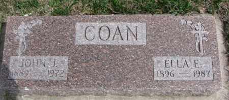 COAN, JOHN J. - Dixon County, Nebraska | JOHN J. COAN - Nebraska Gravestone Photos