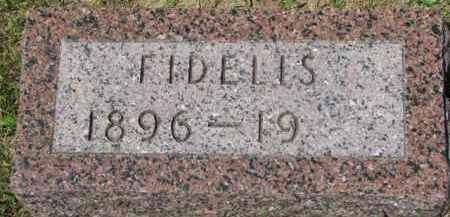 CONNERY, FIDELIS - Dixon County, Nebraska | FIDELIS CONNERY - Nebraska Gravestone Photos