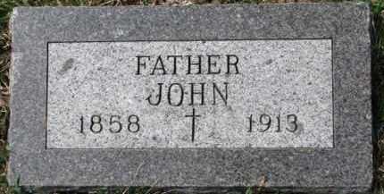 COTTER, JOHN - Dixon County, Nebraska | JOHN COTTER - Nebraska Gravestone Photos