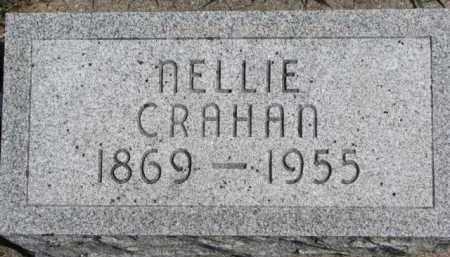 CRAHAN, NELLIE - Dixon County, Nebraska | NELLIE CRAHAN - Nebraska Gravestone Photos